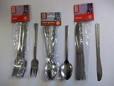 STAINLESS CUTLERY FORKS SPOONS KNIVES CHOOSE ITEM