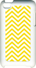 Different Color Plain Chevron Design on iPod Touch 4th Gen 4G TPU Hard Case