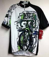 'Mosaic' Short Sleeve Cycling Jersey by Sugoi