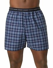 Hanes Men's Yarn Dyed Plaid Boxers 5-Pack style 841BX5
