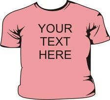Your Text Here - Design your own Pink Kids T-Shirt