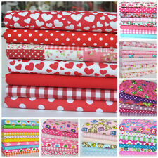 POLYCOTTON  fat quarter bundles - florals, childrens, baby fabrics  20 x 22 inch