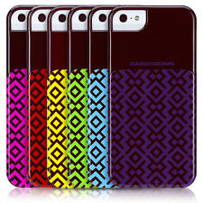 DecoBlock Geometric Pattern Case for Apple iPhone 5 - Assorted Colors