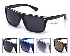 Mens 5 Colors Brandless Classic Retangular Lens Sunglasses Sporty Bold Casual