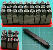 Stamp Punch Leather Leathercraft Steel Metal Stamping Letter Number Set DIY Tool