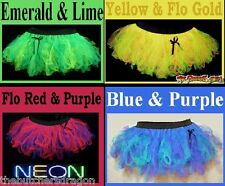 Design Your Own Cyber Tutu UP-TO 4 COLOURS Custom Neon Fancy Dress