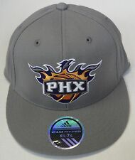 NBA Phoenix Suns 210 Flat Brim Flex Fitted Cap Hat NEW!