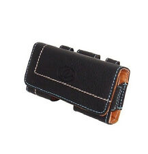 Premium Quality Leather Carrying Side Belt Loop Case Cover Pouch Clip