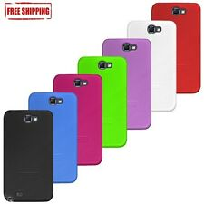 AMZER HARD SHELL SNAP ON FIT CASE COVER FOR SAMSUNG GALAXY NOTE 2 II GT-N7100