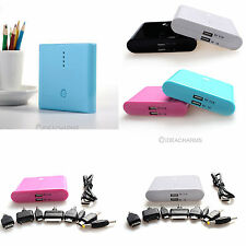 NEW Portable 12000mAh USB Power Bank External Battery Pack For iPad2 iPhone 4S