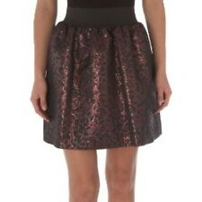 Pied A Terre RRP £80 House of Fraser Dark Purple Red Brown Cocktail Party Skirt