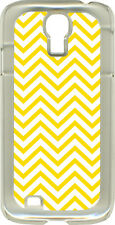 Different Color Chevron Designs on Samsung Galaxy S4 Hard or Rubber Case Cover