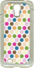 Medium Polka Dots on Samsung Galaxy S4 Hard or Rubber Case Cover