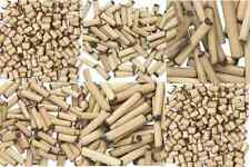 Wood Bead Bamboo Natural Antiqued Aged Round Tube Spacer Small, 5 SIZES, 100 Qty