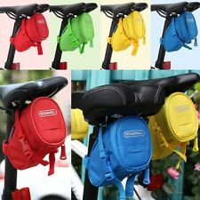 Sales New Cycling Bicycle Bike Saddle Outdoor Pouch Seat Tail Bag Four Colours