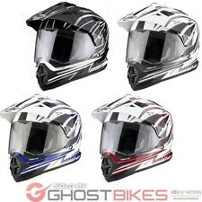 THH TX-26 TX26 #3 Dual Sport MX Enduro Motocross Off Road Adventure Crash Helmet