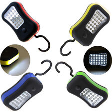 Mini 28LEDs Magnetic Work Light With Hanging Hook Outdoor Flashlight Torch