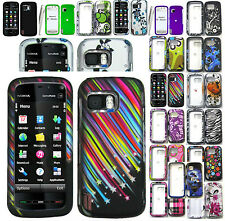 Any Rubber Feel Skin Hard Case For Nokia XpressMusic/Nuron 5800/5230/5233 Phone