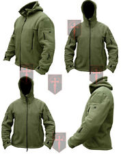 New Olive Green Tactical Fleece Recon Hoodie ( All Sizes unisex military design