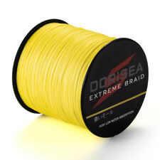 100M 6LB-100LB Yellow Top Quality 100%PE Dyneema SPECTRA Braid fishing line #NEW