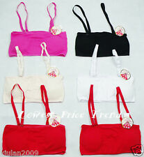 1 Bra or Lot of 6 Training Bras,Fits 28A30A32A34A36A30B32B34B36B30C32C34C BR9688