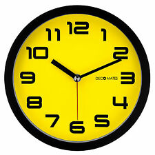 Decomates Home Decor Color Block Non-Ticking Silent Wall Clock - Assorted Colors