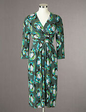 Boden Women's Brand New Drapey Jersey Dress - List Price $128 - Green