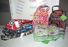 VERA BRADLEY LET'S DO LUNCH CHOICE OF (1) RETIRED  PATTERNS NWT!
