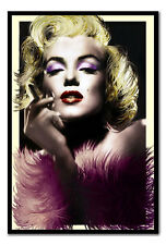 Marylin Monroe Art Deco Style Large Magnetic Notice Memo Board Includes Magnets