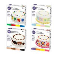 Rolled Fondant Set - Ready To Use from Wilton - 4 Color Sets to Choose From