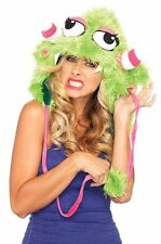 Silly Billy Furry Monster Hood Halloween Costume Accessory