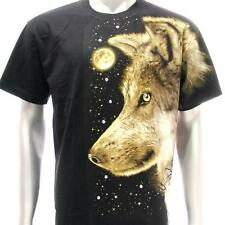 sc40 M L XL XXL Survivor Chang T-shirt Tattoo STUD Glow in Dark Skull Wolf Fox