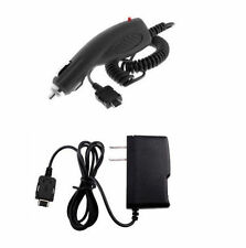 Holder Case Pouch + Wall Home + Car Charger for ATT Verizon Pantech Phones