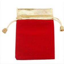 8/40pcs Wholesale Practical Mixed Velvet Wedding Pouch Gift Bags Fit Jewellery