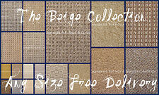 Ultimate Beige Carpets Collection Quality Cheap Lounge Bedroom Stairs AnySize 4m