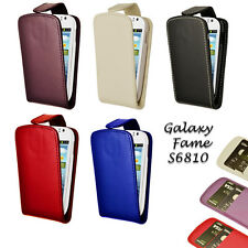 Flip Wallet Leather Case Cover Pouch For Samsung Galaxy Fame S6810 + Film