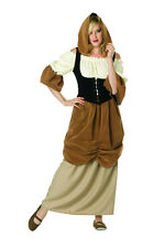 RENAISSANCE FAIRE PEASANT LADY WOMAN COSTUME WENCH MEDIEVAL ADULT COSTUMES 81331