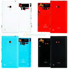 New Housing Battery Back Cover Door Case + Side Buttom for Nokia Lumia 720