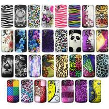 For Pantech Flex P8010 Cool Designs Rubberized Hard Case Phone Cover NEW