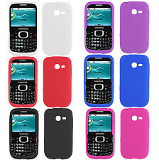 For Samsung Freeform 5 R480C Rubber SILICONE Skin Soft Gel Case Phone Cover