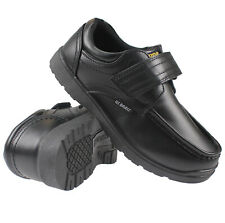 BOYS SMART DRESS SHOES KIDS TRAINERS FORMAL WEDDING BLACK SCHOOL SHOES SIZES 8-3