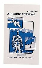 Rothco 1408 Af Survival Manual Mil Issue - Well Illustrated
