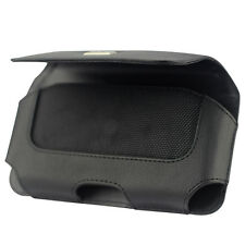 Reiko Leather Case Holster Phone Holder Clip w Belt Loops Pouch Cover