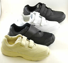Mens Diabetic Orthopedic Shoes Medium & Wide Widths White Black Beige