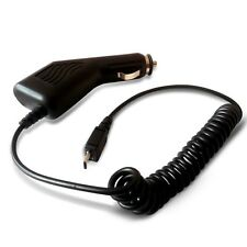 BLACK MICRO USB IN CAR CHARGER FOR VARIOUS MOBILE PHONES