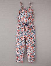 Mini Boden Girl's Brand New Easy Breezy Playsuit Shell Spring Orchard