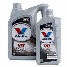 Valvoline VR1 5W50 Synthetic Racing Rally Oil