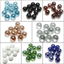 10/20/50 MIXED 16MM GLASS MARBLES TRADITIONAL GAME OR COLLECTORS ITEMS HOM
