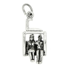 Sterling Silver Ski Lift Chair Charm