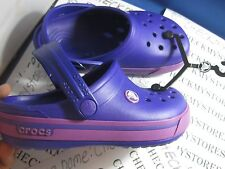 NIB Crocs  Crocband II.5 K Sport Clog UNISEX SUPERIOR DESIGN  YOUTH BIG KIDS